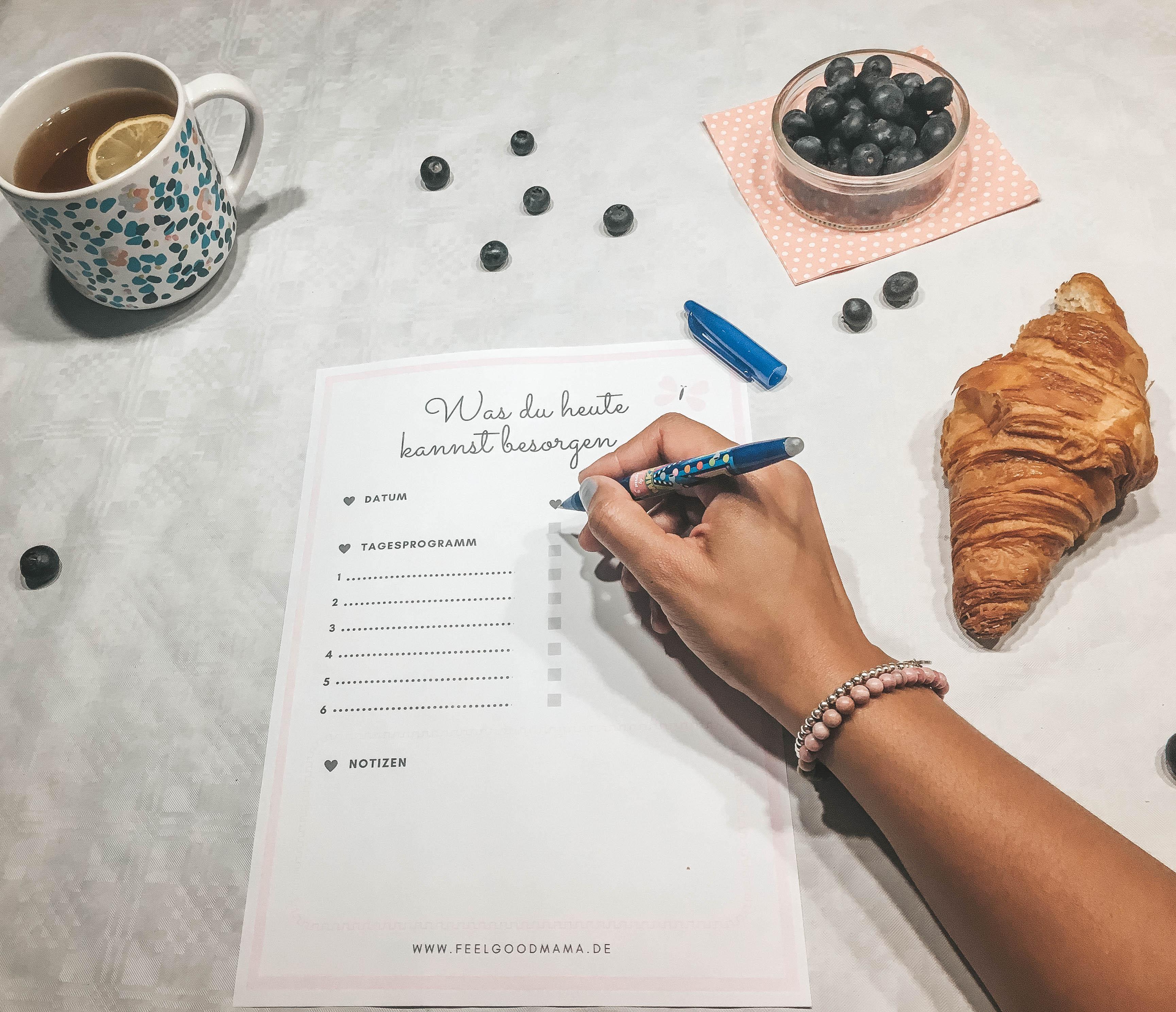 Mama Organisation Checkliste Planen Tagesaufgabe Ordnung System Familienmanagement Mama Von der Chaosqueen zum Listenfreak Kinder Eltern