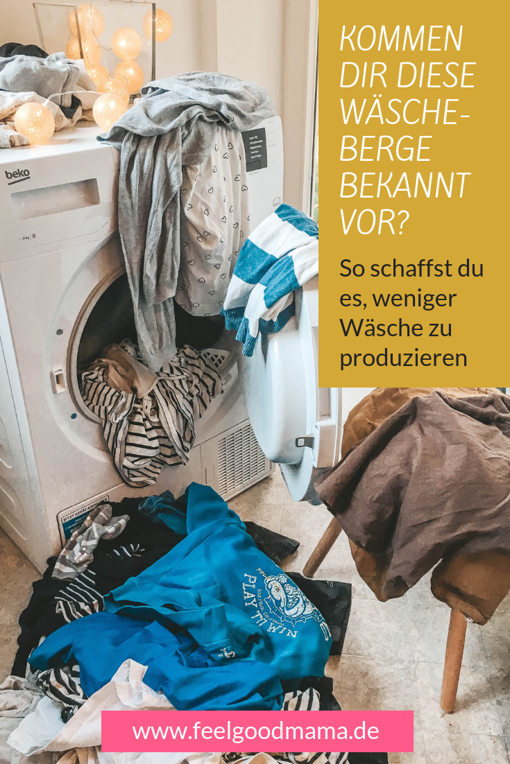 Mit diesen sechs einfachen Tipps gelingt es dir, weniger Wäsche zu produzieren und damit sowohl deine Nerven als auch Ressourcen zu schonen.