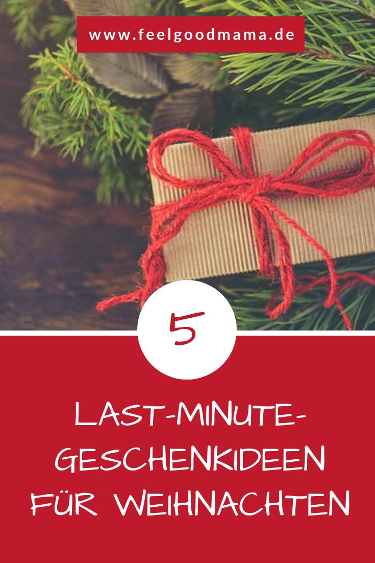 Heiligabend steht vor der Tür und du hast noch nicht alle Geschenke zusammen? 5 Last-Minute-Geschenkideen, die sich schnell besorgen lassen.