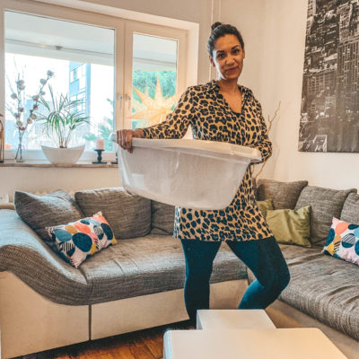 Die Wäschekorb-Methode: Der schnellste Weg, um Ordnung in dein Zuhause zu bringen