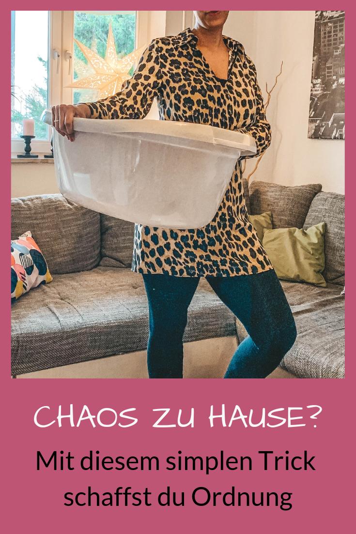Mit Kindern Ordnung zu halten, ist keine leichte Aufgabe. Mit der Wäschekorb-Technik schaffst du es, in kurzer Zeit Ordnung in das Chaos Zuhause zu bringen.