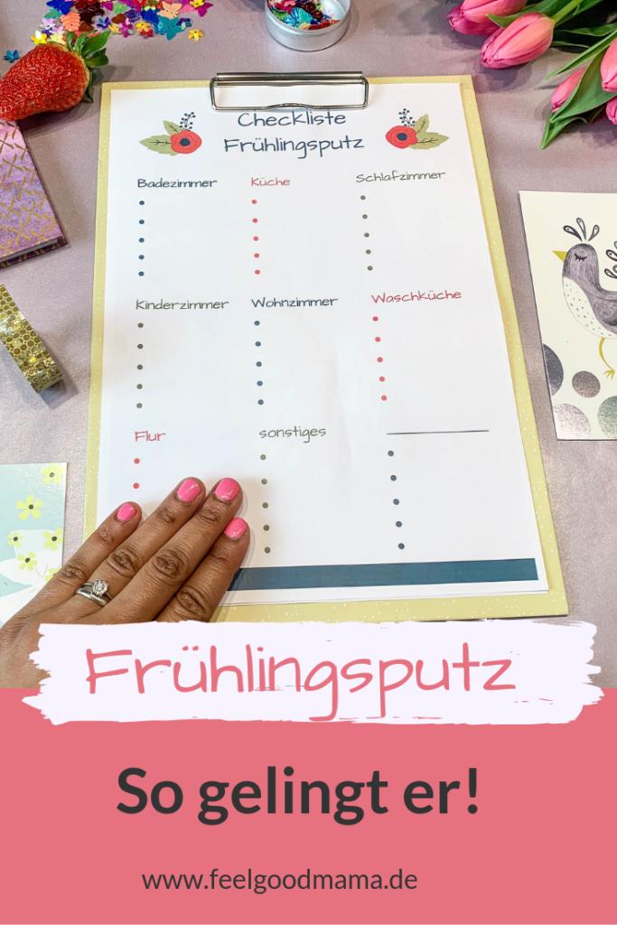 Frühlingsputz – so gelingt er! (inkl. Checkliste) • Feelgoodmama