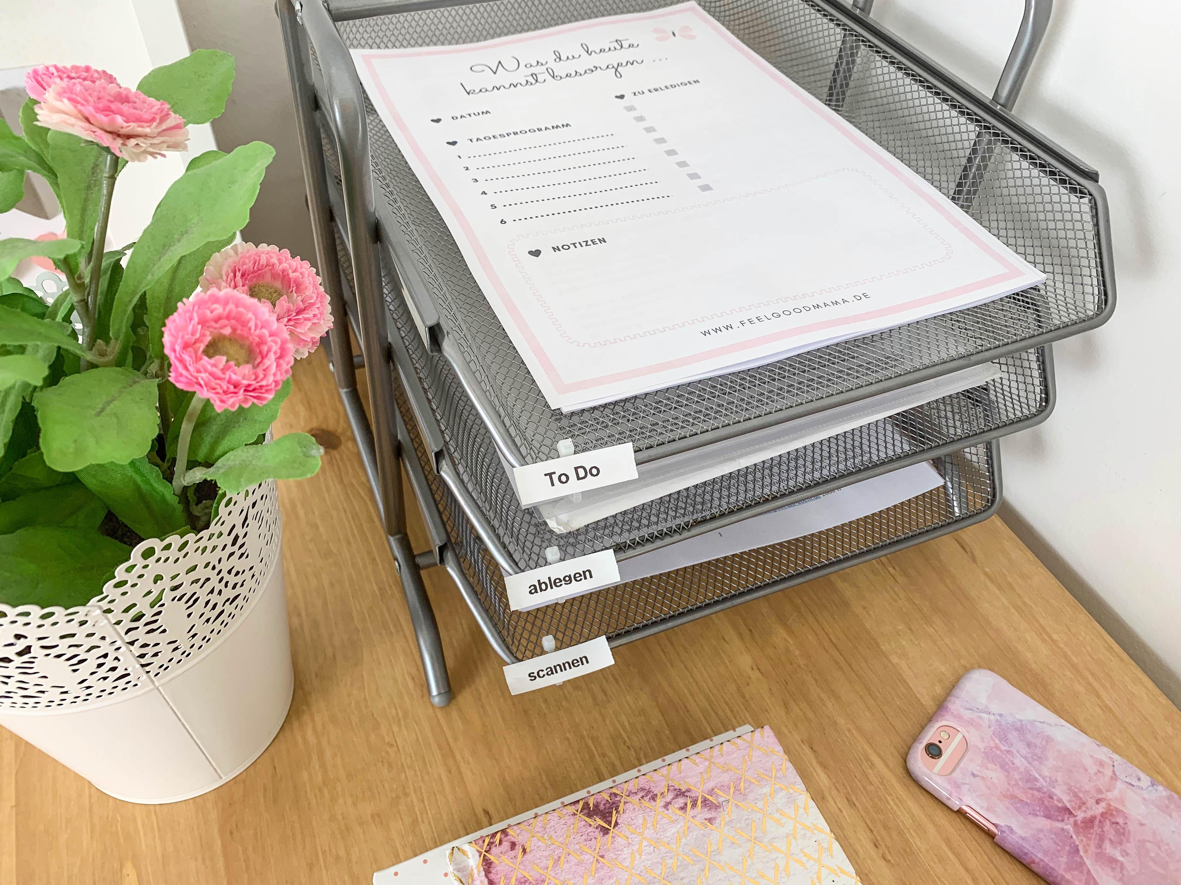Organisation, organisieren, Papierablage, Papiere organisieren, Unterlagen sortieren, Unterlagen organisieren, Planung, Mama, Kinder, Familie, Papierchaos