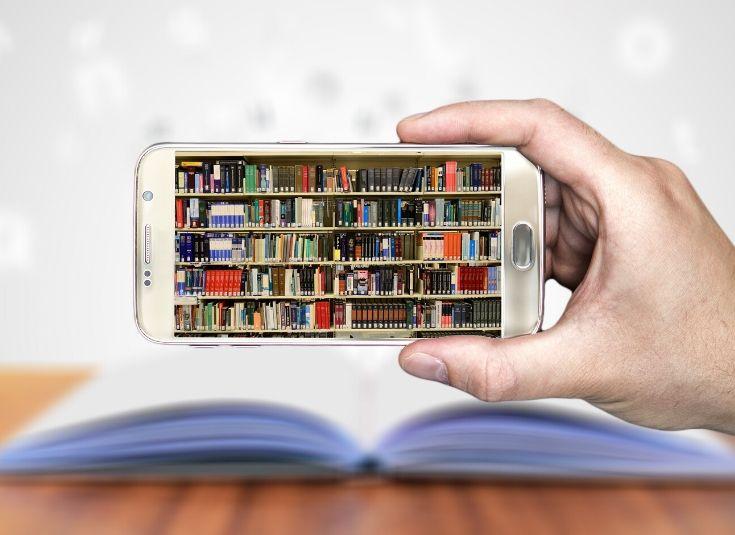 Geld sparen, Bücherei, Bibliothek, Onleihe, Bücher leihen, digitale Medien