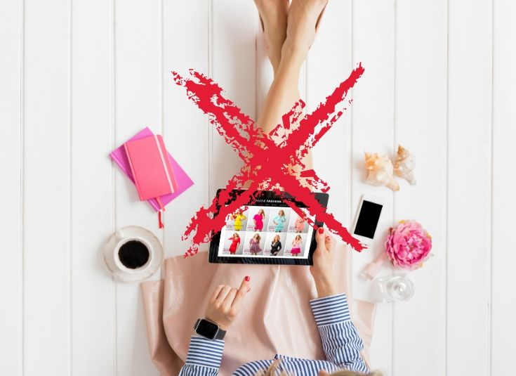 Geld sparen, Kein Online Shopping, Verzicht auf Online Shopping