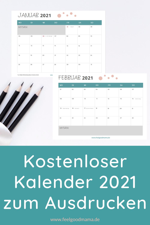 Kalender, Kalender 2021, Familienkalender, Familienkalender 2021, Kalendervorlage, Kalendervorlage 2021, Freebie, Kalender zum Ausdrucken, Planen, Planung, Organisation, Mama
